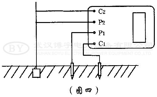 电阻时,不能按一般接线方法测量